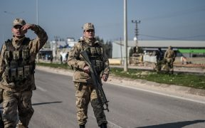 Turkey protests US observation posts in Syria 22