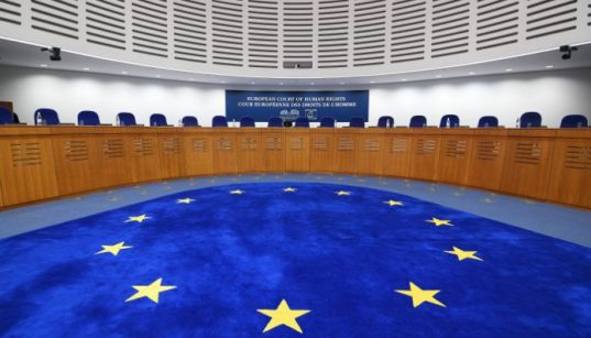 Cases from Turkey rank 4th among 47 states at Europe's top human rights court 38