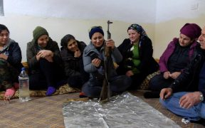 In northern Syria, a society prepares for war against Turkey 28