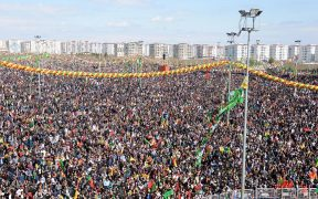 Kurdish New Year gets political in Diyarbakir 24