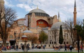 Turkey's Hagia Sophia 'could become a mosque' 22