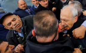 Turkey opposition leader attacked at soldier's funeral 24