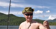 Putin solidifying Russia's new role as a Middle East power broker by hooking a big Turkish fish. 25