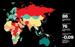 Global Peace Index 2019: Turkey Ranks 152nd Among 163 Countries 28