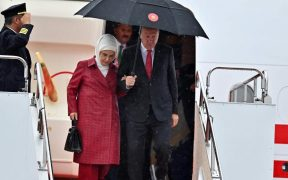 Turkey's First Lady criticised after spotted carrying $50,000 handbag 27