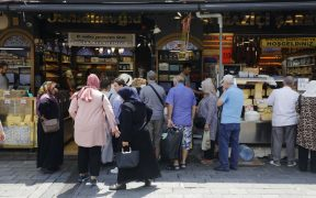 Turkey's Inflation Slips More Than Forecast as Slowdown Resumes 24