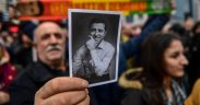 Jailed Kurdish leader's release blocked by court order for rearrest 10