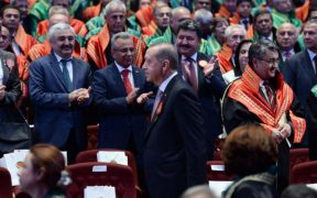 Turkey's Erdogan rebukes lawyers boycotting judicial ceremony at presidential palace 28