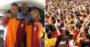Huge crowd of Galatasaray fans flock to welcome Falcao to Turkey 16