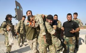 """""""We are finally ready to partner with Assad and Putin but it is hard to know whom to trust"""":The Kurds' commander in chief 53"""