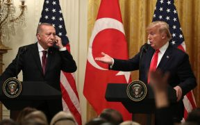 Trump showed he doesn't understand Turkey — while standing next to Turkey's president 25