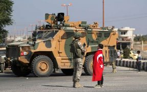 Erdogan says Turkey will not leave Syria until other countries pull out 26