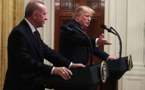 Donald Trump Is Happy to Seem Weak Next to Turkey's Erdogan Because of Syria 25