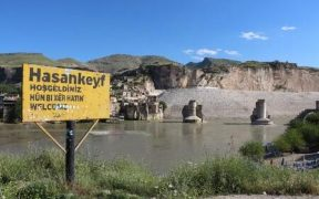 'History disappears' as dam waters flood ancient Turkish town 23