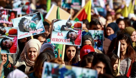 Syrian Kurds call for investigation into kidnapping of women in Afrin 21