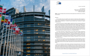 46 European Parliament members call on EU to initiate targeted sanctions against Erdoğan government 26