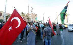 Turkey entrenches further into Libya as rivals strike back 22