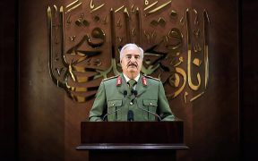 """No mercy for Turkish forces in Libya "": Haftar 28"