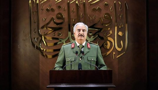 """""""No mercy for Turkish forces in Libya """": Haftar 21"""