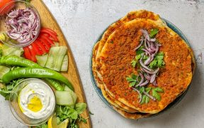 How to make lahmacun: Turkish flatbreads with a meat and vegetable topping 29