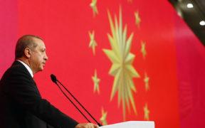 Erdoğan sets out EU dream in Ankara palace 44