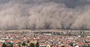 Turkey's capital Ankara hit by freak sandstorm, six people injured 23