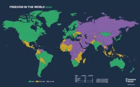 Turkey declared 'not free' in world freedom report 22