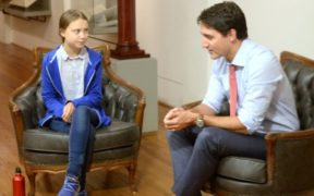 Trudeau pranked into talking Trump, 'South Park' with fake Greta Thunberg 23