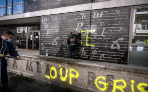 France to ban Turkish 'Grey Wolves' after defacement of Armenian memorial 25