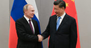 China and Russia encircling divided Western allies 2