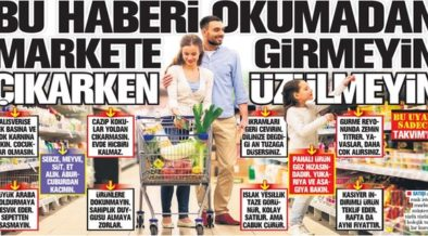 Turkish pro-gov't daily advises against grocery shopping while hungry to battle inflation 67