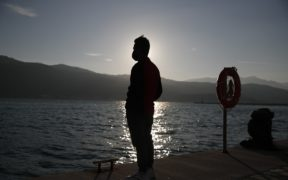 Migrant father charged with son's death on journey to Greece 26