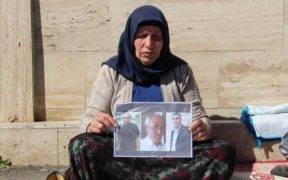 Kurdish woman detained during vigil demanding justice for murdered family 25
