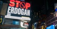 "Times Square billboard reading ""STOP ERDOGAN"" draws ruling AKP's ire 9"