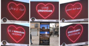 'Love Erdoğan' billboards pop up across Turkey to counter 'Stop Erdoğan' ad in US 11