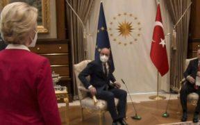 A Ankara, Ursula von der Leyen fait les frais d'une très sexiste faute de protocole