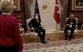 Ursula von der Leyen victime d'une faute sexiste de protocole: la Turquie blâme l'Union européenne