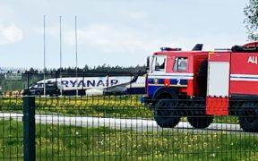 Belarus Military Forces Ryanair Jet Landing as Reporter Arrested 21