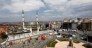 Turkey's Erdogan inaugurates major new mosque in heart of Istanbul 23