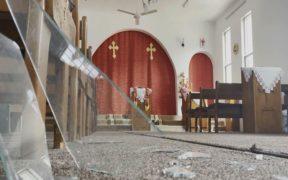 Turkish bombardment damages church in Duhok village, terrifying villagers 21