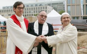 Foundation for multi-faith place of worship laid in Berlin 26