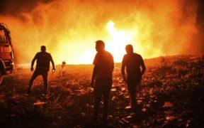 AKP gov't blamed for poor response to forest fires raging across Turkey 22