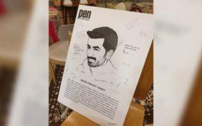 Imprisoned Kurdish journalist  made an honorary member of PEN Melbourne 23