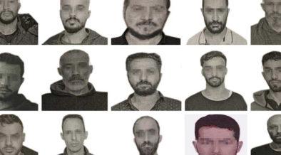 Turkey reveals photos of 15 alleged Mossad spies arrested 58